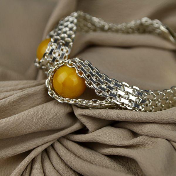 luksusowa biżuteria z bursztynu