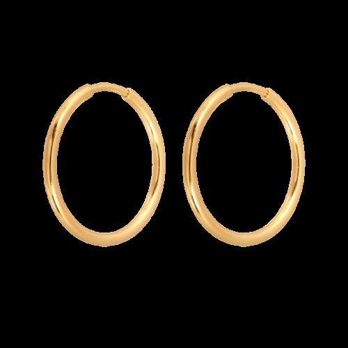 kolczyki ze złota koła Wyszków