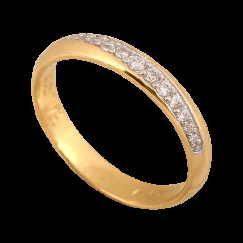 złoty pierścionek z cyrkoniami Wyszków