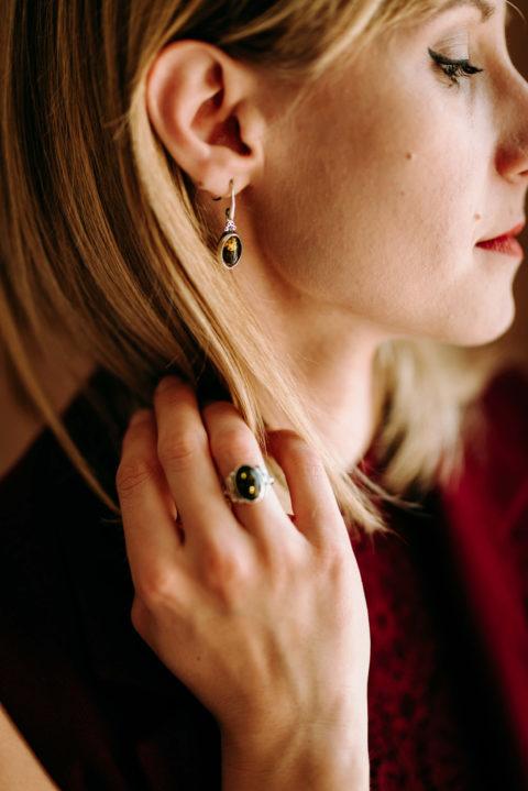 biżuteria z zielonym bursztynem (3)